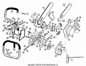 Poulan 306a Gas Chain Saw Parts Diagram For Handlebar