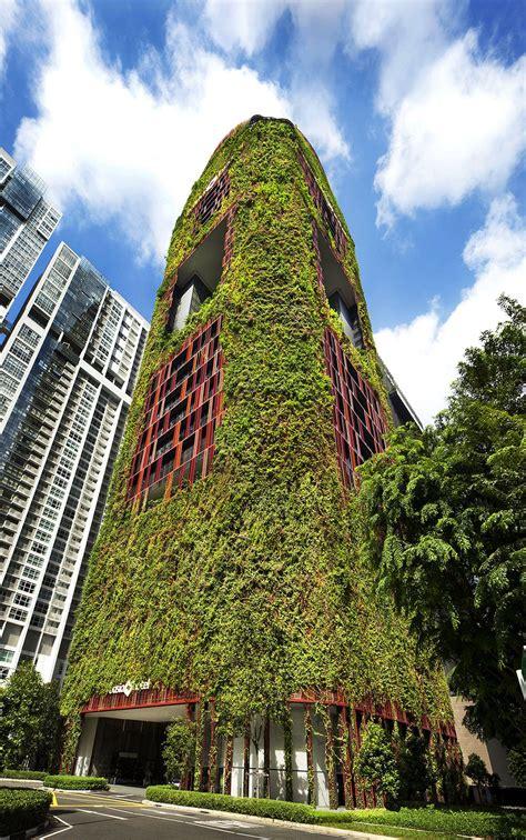 Architecture Oasia Hotel Downtown Singapore Woha
