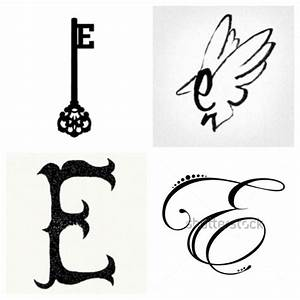 10 best Letter E and C images on Pinterest | Tattoo ideas ...