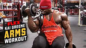 How To Get Bigger Arms  Bicep And Tricep Workout With Kai Greene