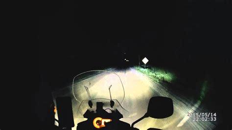 h4 led test cyclops adventure sports h4 led headlight road test 3