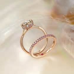 engagement ring and wedding band set hart bespoke engagement rings jewellery