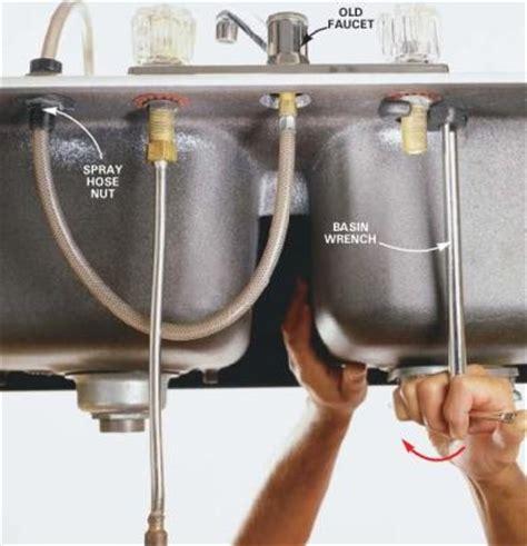 how to change out a kitchen faucet remove kitchen faucet faucets reviews