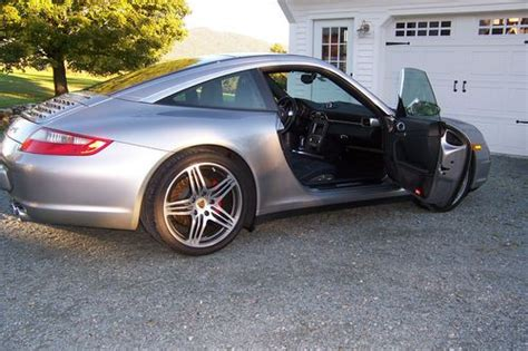 Purchase Used 2007 Porsche 911 Targa 4s Coupe 2-door 3.8l