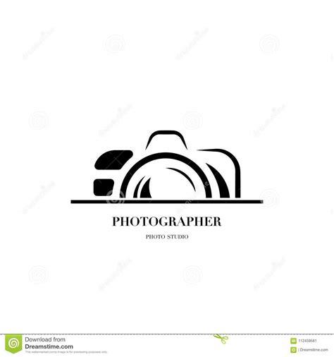 abstract camera logo vector design template