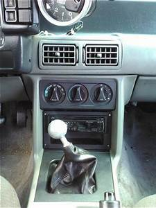 Mustang Radio Install Panel  87-93