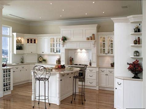 light wood floors with white cabinets the best material for kitchen flooring for dark cabinets 354 | White Kitchen Cabinets With Light Brown Striped Wood Flooring