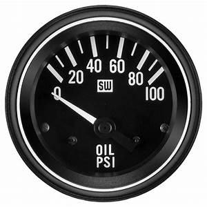 Heavy Duty Oil Pressure Gauge  P  N 284l