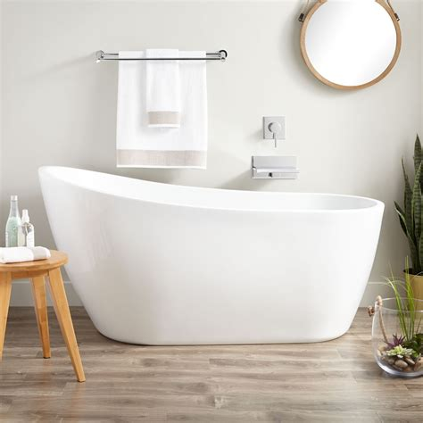 sheba acrylic slipper tub bathroom
