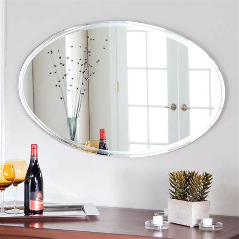 White Framed Oval Bathroom Mirror by 15 White Oval Bathroom Mirror Mirror Ideas