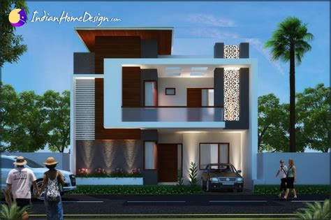 Home Design Gallery Modern Contemporary Indian Home Design By Unique