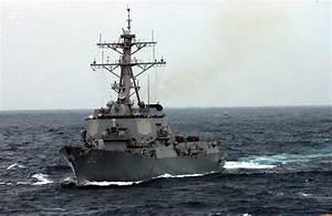 USS Lassen Kapal perang pemusnah peluru berpandu AS ronda ...