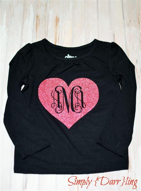 valentines day monogram tee simply darrling