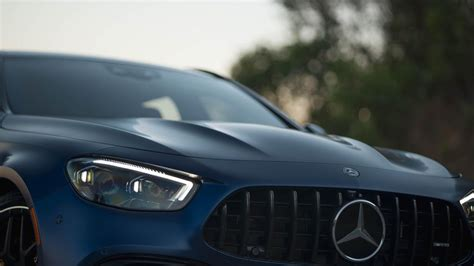 It's also one of the most luxurious ways to take track tech to the road. 2021 Mercedes-AMG E63 S Wagon is a beautiful blue beast - Page 3 - Roadshow