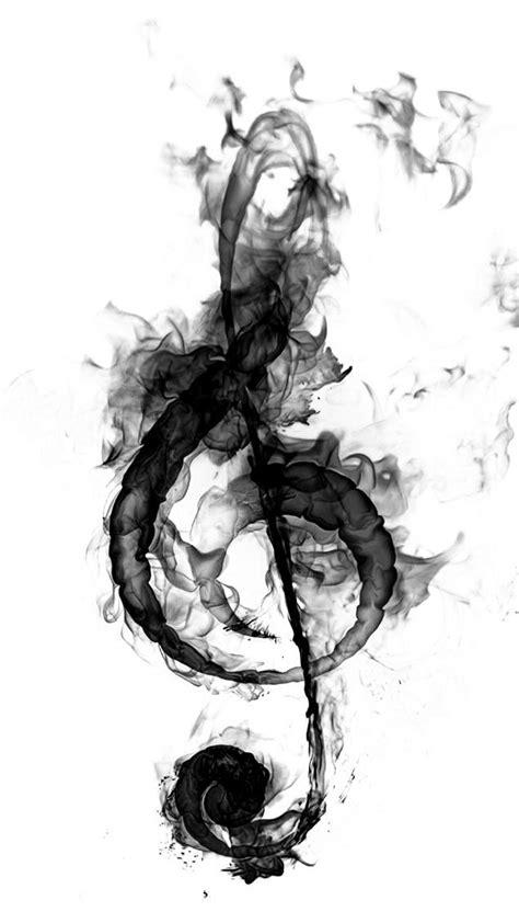 Notenschlüssel - abblätternd   Zeichnung   Tatuaje musica, Ideas de fondos de pantalla y Musica