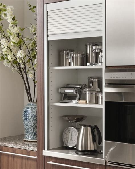 clever storage ideas for small kitchens 42 creative appliances storage ideas for small kitchens digsdigs