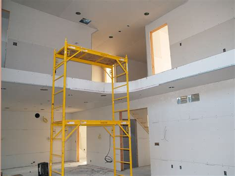 Finishing Drywall On Ceiling by Sam Paul Drywall Inc Insulation Drywall Metal Studs