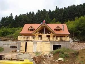 Maison Rondin Bois : constructeur maison en rondins de bois construction youtube ~ Melissatoandfro.com Idées de Décoration