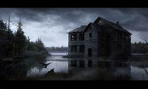 34 Haunted House HD Wallpapers