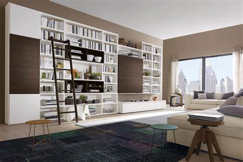 libreria lecco libreria a parete con scala napol sala arredamenti lecco