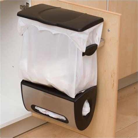 inside cabinet trash can 5 space saving solutions to mount inside kitchen cabinet
