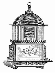 Free Vintage Birdcage Clip Art Images | Old Design Shop Blog