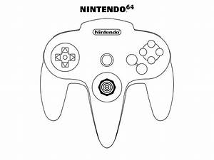 N64 by oloff3 on deviantart for N64 controller