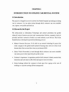 car rental system project report php my sql With car dealership management system project documentation