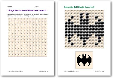 Juegos De Números Primos  Juegos Matemáticos Para Niños