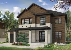 plan de maison moderne 4 chambres pour grande famille