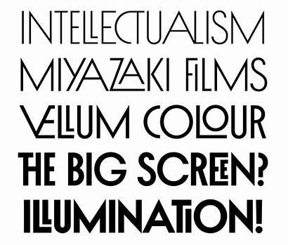 Title Inbox Fonts Typography Indiantypefoundry Decorative