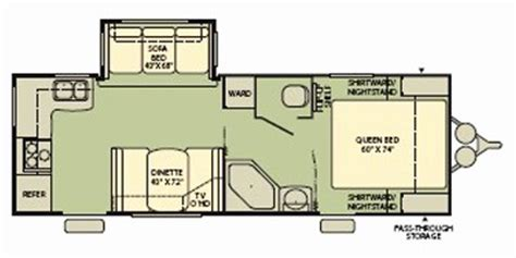 2008 Prowler Travel Trailer Floor Plans by 2008 Wilderness M 240rks Specs And Standard Equipment