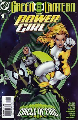 Green Lantern / Power Girl 1 (DC Comics) - ComicBookRealm.com