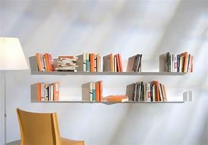 étagère Murale Porte Cadre : tag re murale us 45 cm lot de 4 teebooks ~ Premium-room.com Idées de Décoration