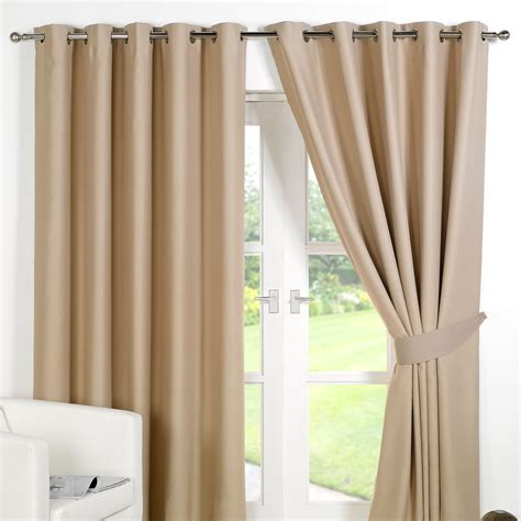thermal blackout curtains striped ring top lined pair eyelet ready made thermal