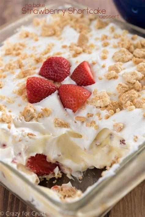 check out no bake strawberry shortcake dessert it s so