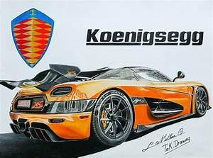 Koenigsegg Agera XS - Tek Drawing - Draw to Drive