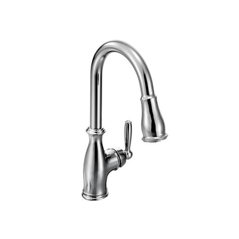 Moen Brantford Kitchen Faucet 7185 by Moen 7185c Chrome Single Handle Pullout Spray Kitchen