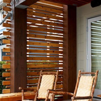 beautiful privacy screens  small spaces