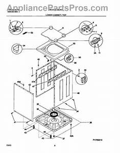 Parts For White Westinghouse Wlxg42rew3  Lower Cabinet    Top Parts