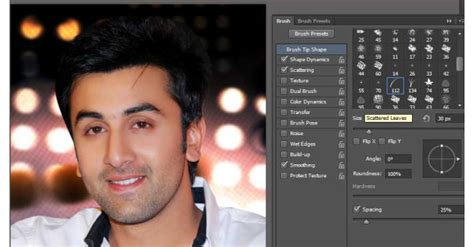 Create Realistic Beard With Grass Brush Tool In Photoshop