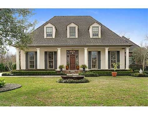 beautiful acadian house style acadian house plans hedges home and columns