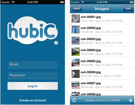 hubic for blackberry10 hubic offers 1tb online storage space for 136 a year