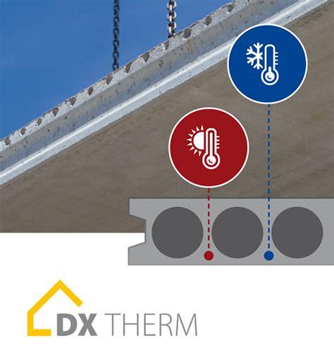 Dennert Baustoffwelt Fertigdecke  Dx, Dxtherm, Dxair