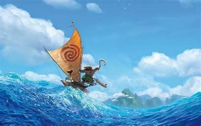Moana Disney Animation Wallpapers Wide