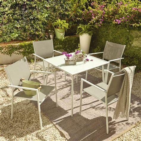 muebles jardin leroy merlin  set mesas  sillas