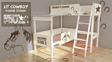 chambre lit jumeau lit jumeau cowboy vente lit jumeau pour enfants decore