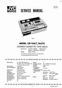Jvc Cd1667  U