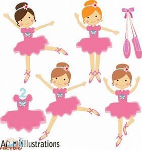 Ballet cliparts