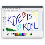 Program Paint Painting Kde Tool Raster Simple